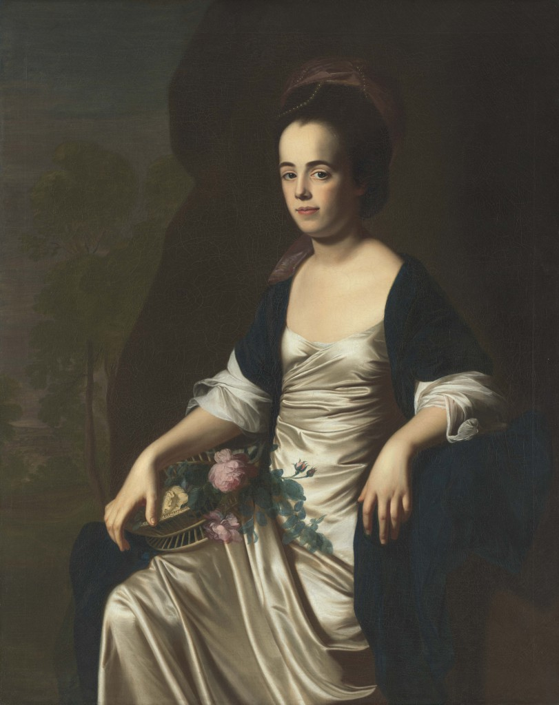 John Singleton Copley, Portrait of Mrs. John Stevens (Judith Sargent, later Mrs. John Murray), 1770–72. Terra Foundation for American Art, Daniel J. Terra Art Acquisition Endowment Fund, 2000.6