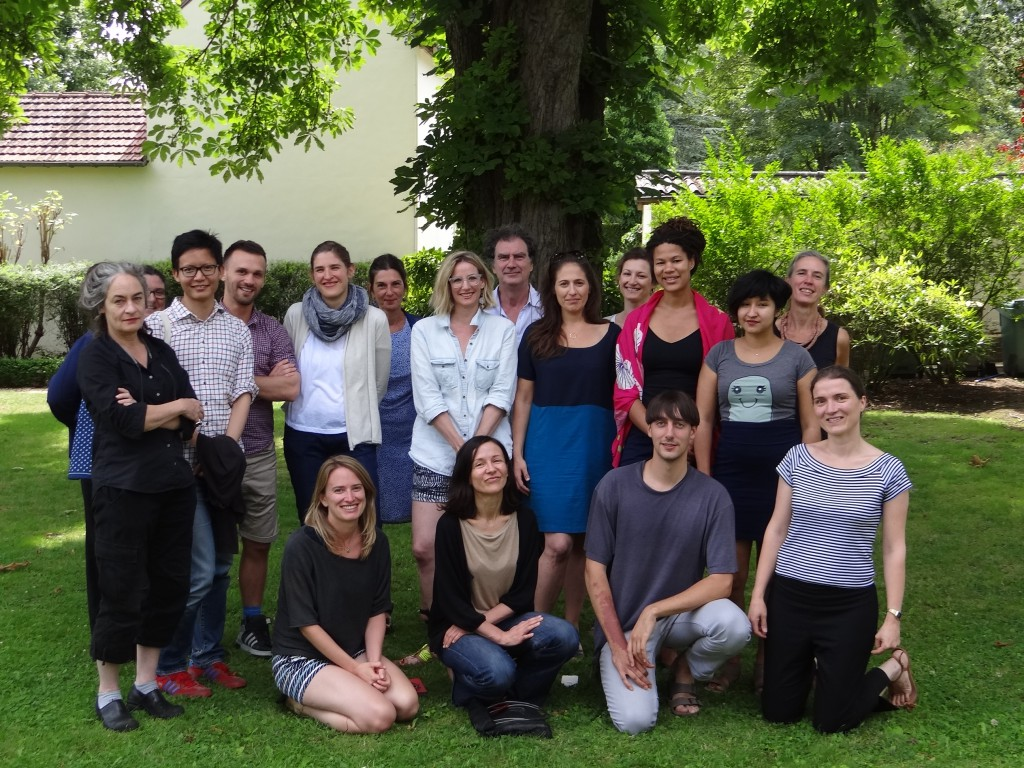 Participants in the 2014 Terra Summer Residency fellowship program, in Giverny, France.