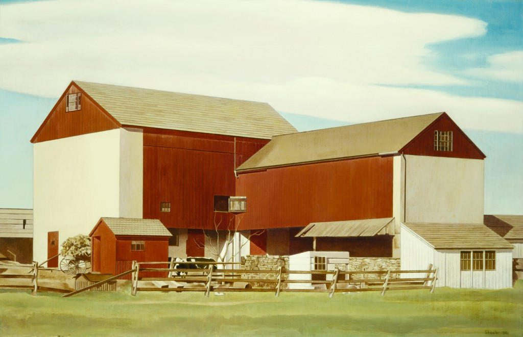 Charles Sheeler, Bucks County Barn, 1940. Terra Foundation for American Art, Daniel J. Terra Collection, 1999.135