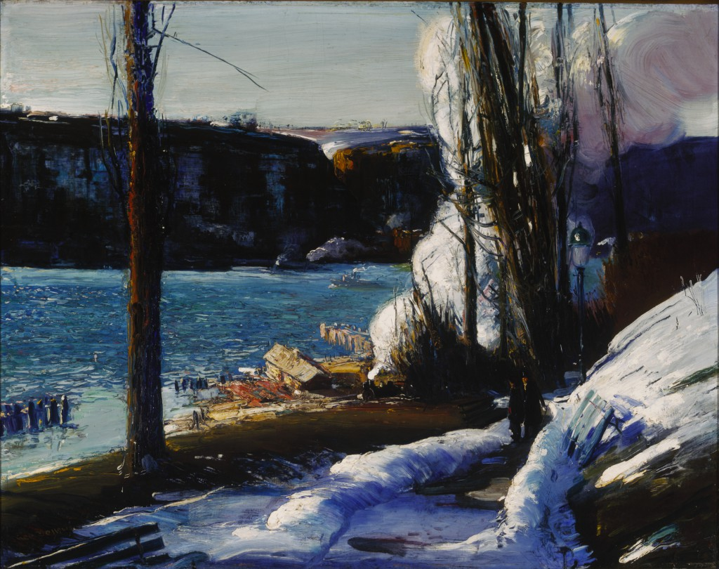 George Bellows, The Palisades, 1909. Terra Foundation for American Art, Daniel J. Terra Collection, 1999.10