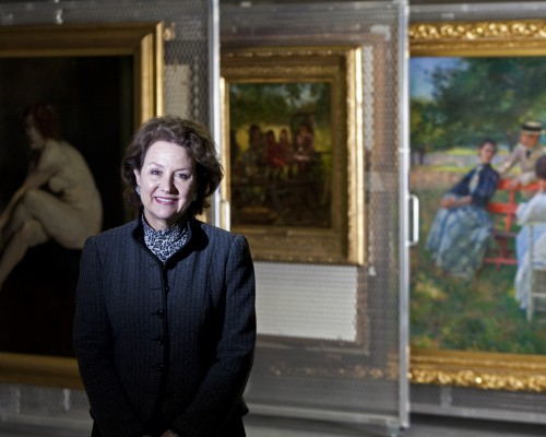 Terra Foundation President and CEO Elizabeth Glassman oversees the organization's global exhibition, academic, and research programs, as well as its collection of nearly 800 paintings, works on paper, and sculptures dating from the Colonial Period to 1945. Photo: Nathan Weber/The New York Times.