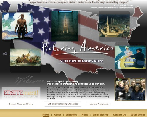 Picturing_America_website_homepage