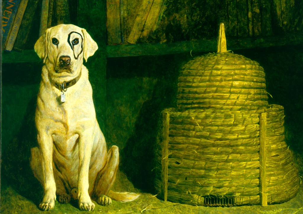 Jamie Wyeth,  Kleberg, 1984, Oil on canvas.  Terra Foundation for American Art, Daniel J. Terra Collection 1992.164