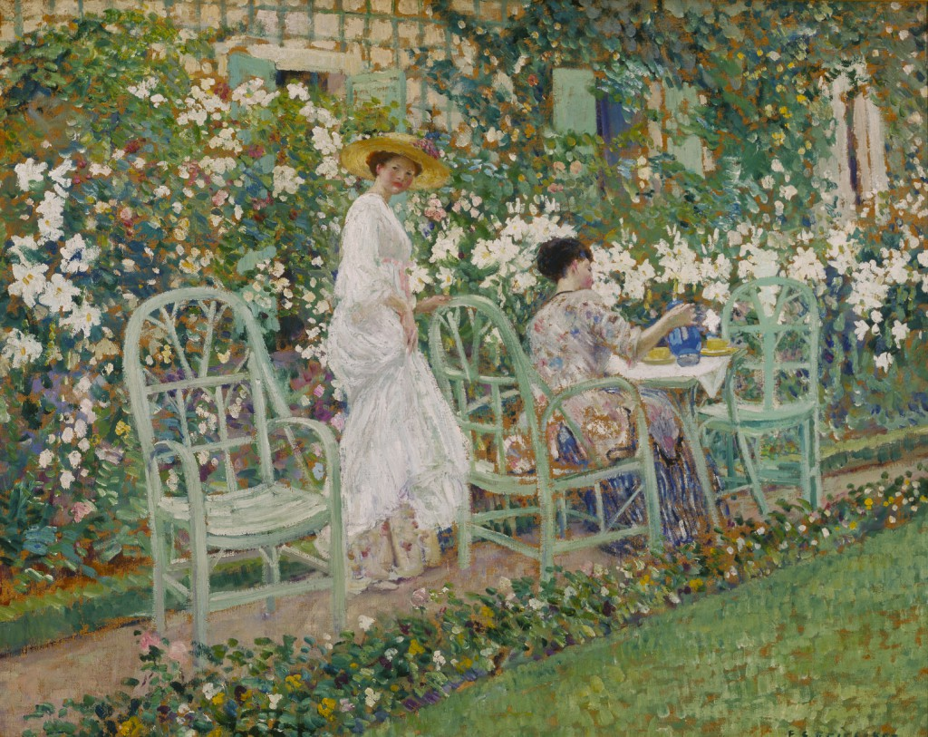 Frederick Frieseke, Lilies, by 1911. Terra Foundation for American Art, Daniel J. Terra Collection, 1999.55