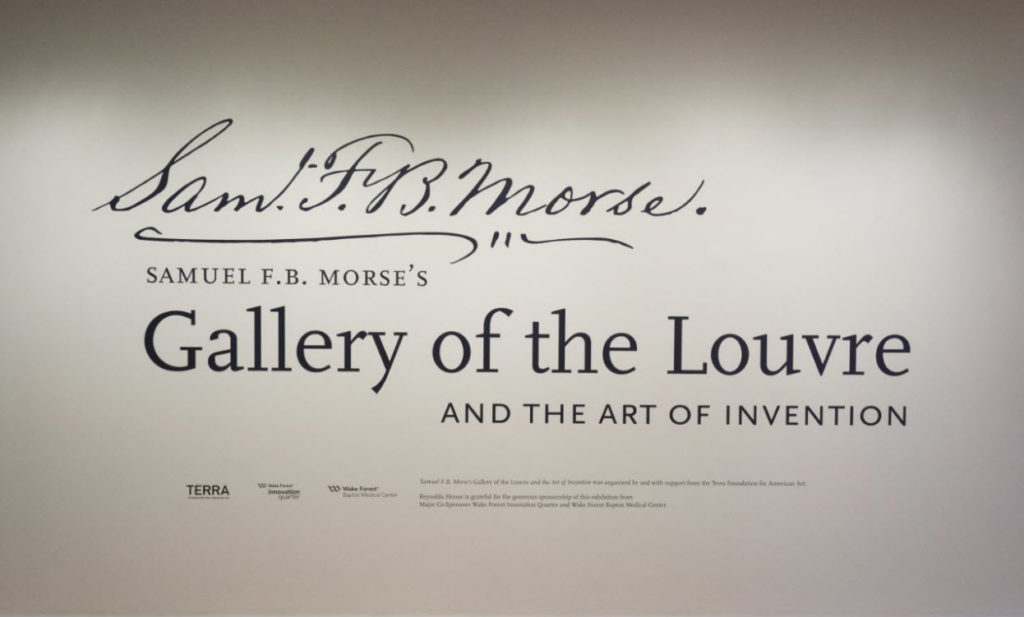 """Terra Collection Initiative: Samuel F  B  Morse's """"Gallery of the"""