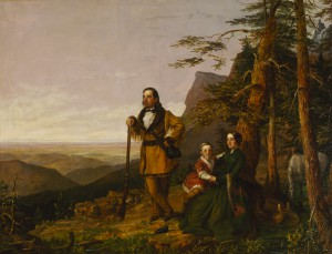 William S. Jewett, The Promised Land – The Grayson Family, 1850, oil on canvas, 50 3/4 x 64 in. (128.9 x 162.6 cm), Terra Foundation for American Art, Daniel J. Terra Collection, 1999.79