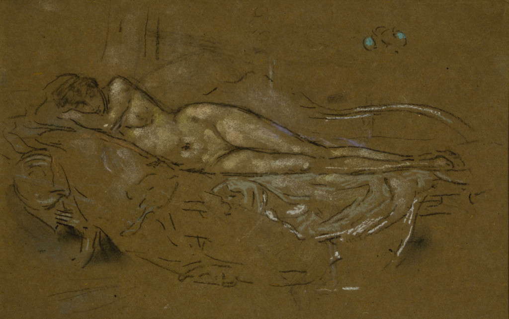 James McNeill Whistler, Reclining Nude, 1893/1900. Terra Foundation for American Art, Daniel J. Terra Collection, 1989.7