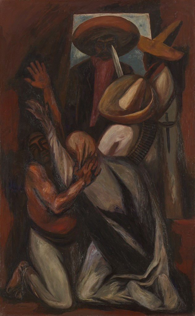 José Clemente Orozco (1883–1949)  Zapata, 1930 Oil on canvas 78 ¼ x 48 ¼ in. (198.8 x 122.6 cm)  The Art Institute of Chicago, Gift of Joseph Winterbotham Collection, 1941.35 © 2014 Artists Rights Society (ARS), New York / SOMAAP, Mexico City  Reproduction, including downloading of Jose Clemente Orozco works is prohibited by copyright laws and international conventions without the express written permission of Artists Rights Society (ARS), New York.