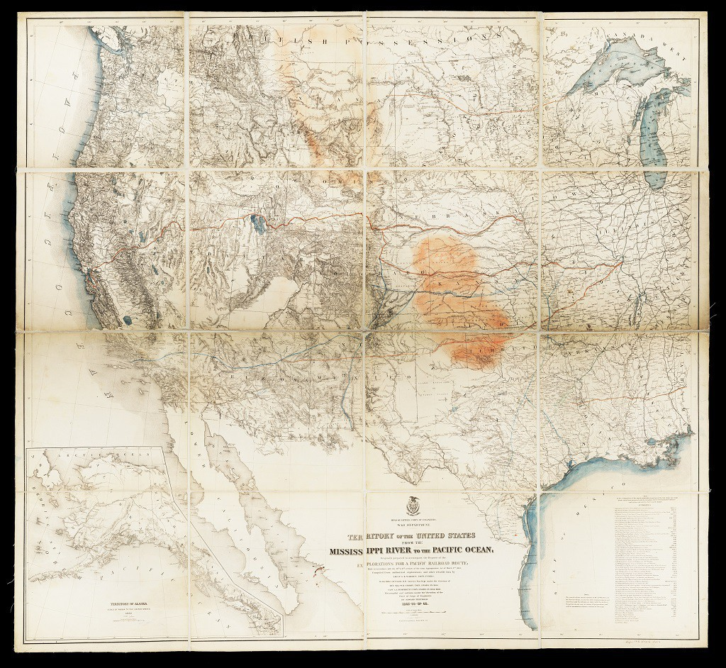 Map: Territory of the United States, c. 1865-1868 | Terra Foundation ...