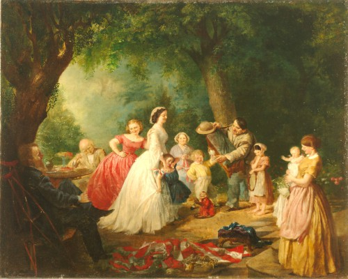 Lilly Martin Spencer, The Home of the Red, White and Blue, c. 1867‒1868, oil on canvas, 24 x 30 in. (61 x 76.2 cm), Terra Foundation for American Art, Daniel J. Terra Art Acquisition Endowment Fund, 2007.1