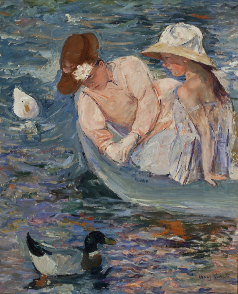 Mary Cassatt, Summertime, 1894, oil on canvas, 39 5/8 x 32 in. (100.6 x 81.3 cm), Terra Foundation for American Art, Daniel J. Terra Collection, 1988.25