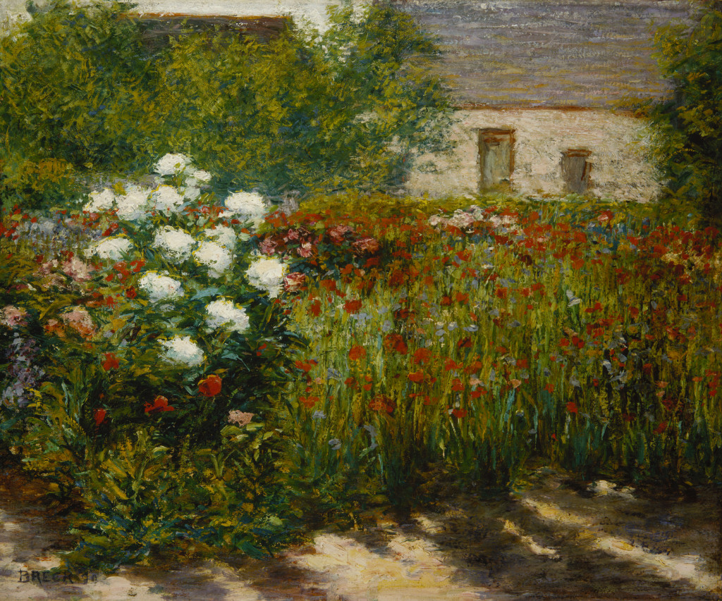 John Leslie Breck, Garden at Giverny, between 1887 and 1891, oil on canvas, Terra Foundation for American Art, Daniel J. Terra Collection, 1999.18