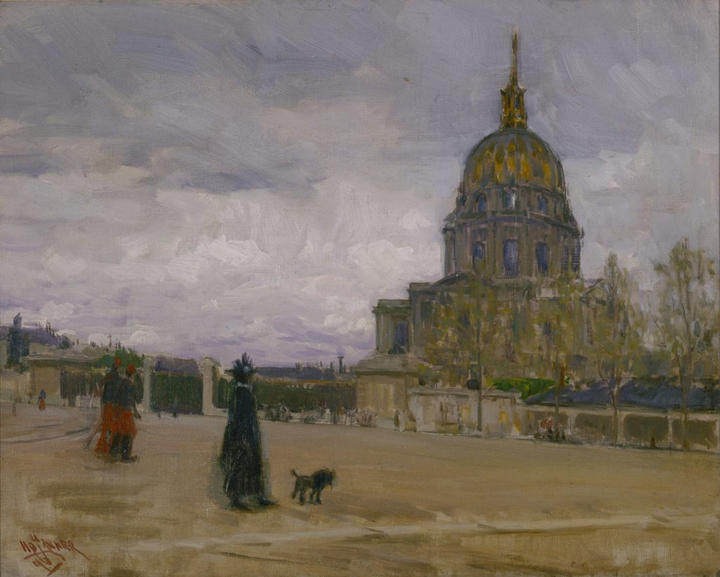 Henry Ossawa Tanner, Les Invalides, Paris , 1896, oil on canvas, Terra Foundation for American Art, Daniel J. Terra Collection, 1999.140